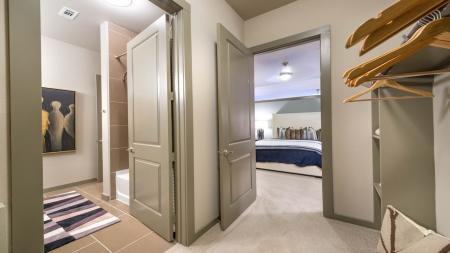 Huge Walk-In Closets in Master Bedrooms | Modera Flats