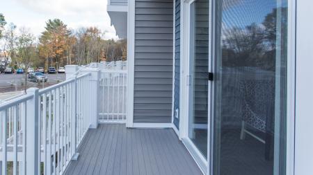 Private Balcony on Apartment Home | Modera Hopkinton
