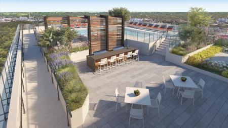 26th Floor Outdoor Sky Deck | Modera Midtown