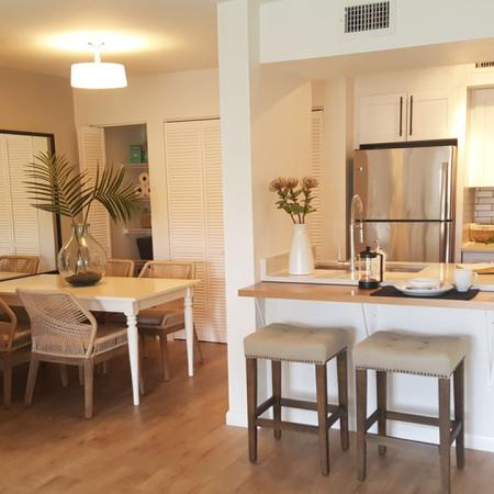 Separate Kitchen and Dining Area | Alister Boca Raton
