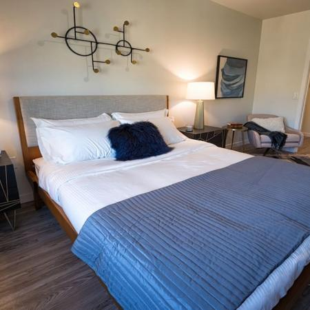 King-Sized Bedrooms | Modera South Lake Union