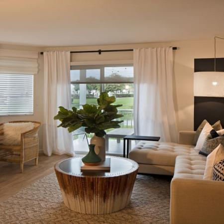 Flexible Living Spaces with Sofa and Desk | Alister Boca Raton
