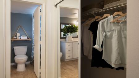 Spacious Ensuite and Large Closet in Master | Alister Boca Raton