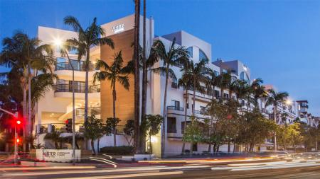 Community Exterior at Night | Alister Sherman Oaks