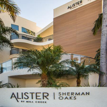 Community Exterior and Monument Sign | Alister Sherman Oaks