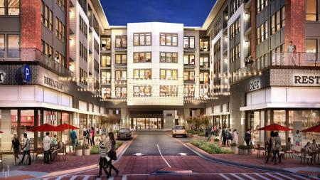 Restaurants and Retail On-Site   Modera Sandy Springs