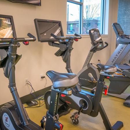 Spin Bikes and Treadmills | Modera South Lake Union