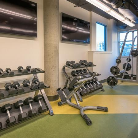 Free Weights and Weight Machines | Modera South Lake Union