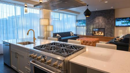 Resident Kitchen in Apartments in Seattle, WA| Modera South Lake Union