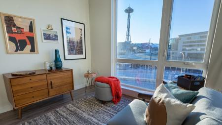 Apartment Home with Oversized Windows and City Views | Modera South Lake Union