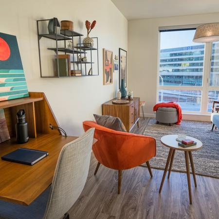 Modern Living Room | Modera South Lake Union