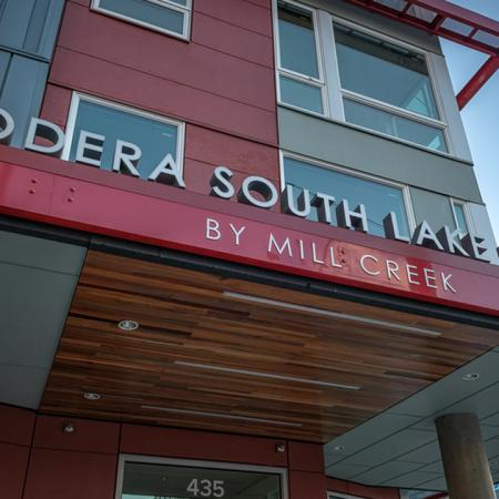 Community Entrance | Modera South Lake Union