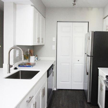 Upgraded Kitchen with Quartz Counters and Stainless Appliances | Alister Columbia