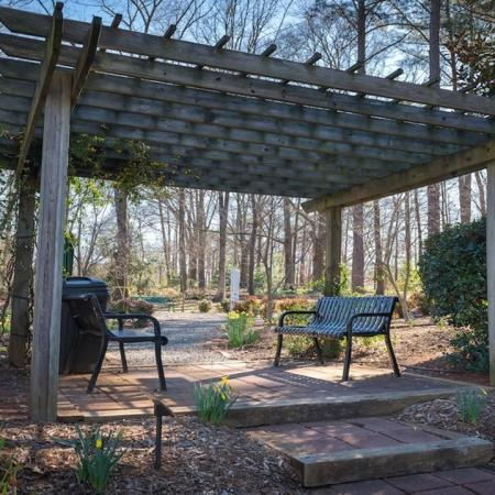 Pergola at Abernathy Greenway Park | Modera Sandy Springs