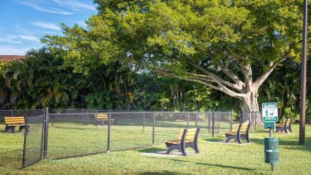 On-Site Bark Park | Alister Boca Raton