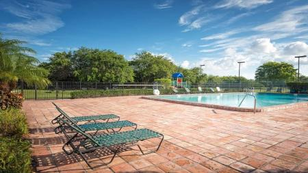 Second Pool with Sundeck and Chairs | Alister Boca Raton