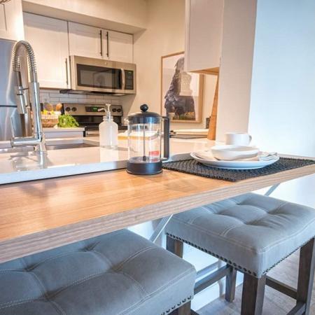 Convenient Breakfast Bar in Kitchen | Alister Boca Raton