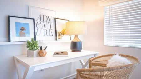 Desk and Chair in Living Area | Alister Boca Raton