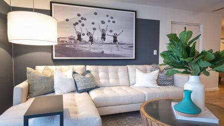 Spacious Living Room with Sectional Sofa | Alister Boca Raton