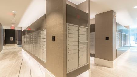 Convenient Mail Center in Lobby | Modera Midtown