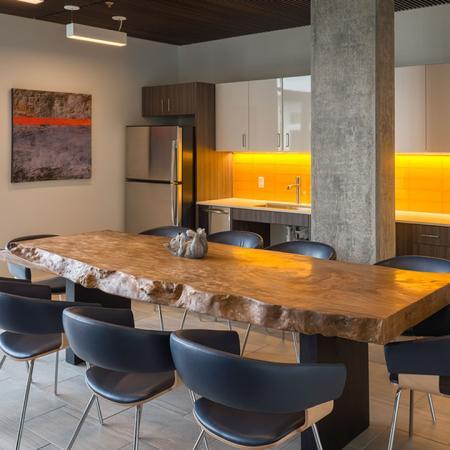 Resident Clubroom with Entertaining Kitchen | Modera Ballard