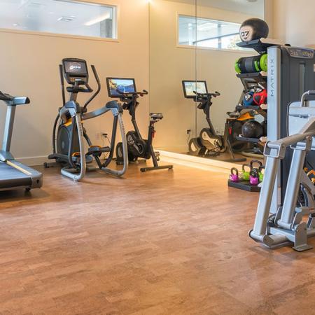 Cardio Machines in Fitness Center | Modera Ballard
