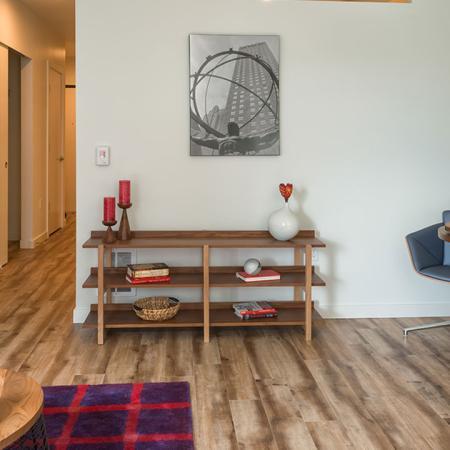 Beautiful Plank-Style Floors in Each Home | Modera Ballard