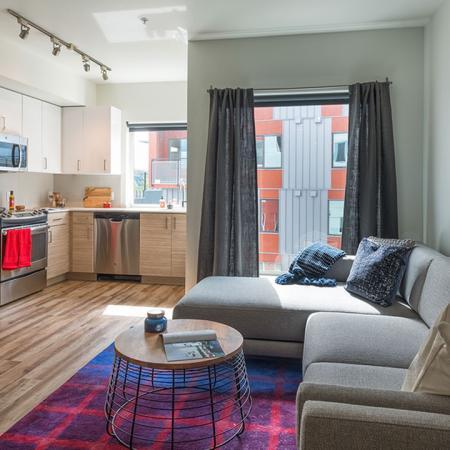 Open Apartment Home Floor Plan | Modera Ballard