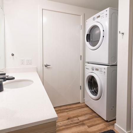Full-Size Stackable Washer and Dryer | Modera Ballard