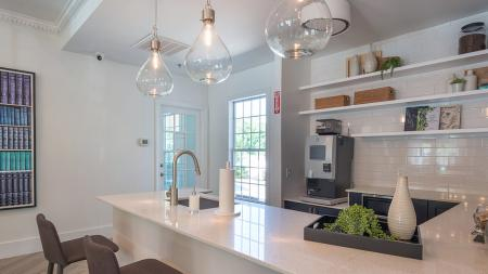 Coffee Bar and Resident Kitchen | Alister Quincy