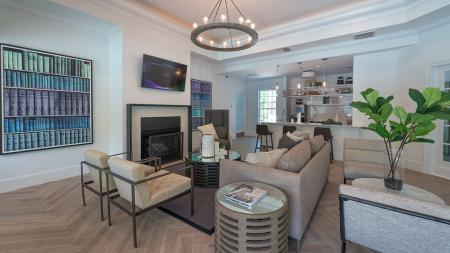 Resident Lounge with Flat Screen Television | Alister Quincy