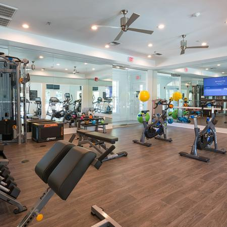 Full-Service Fitness Center