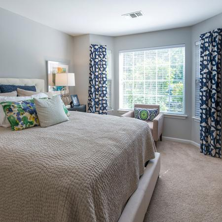 Large Master Bedroom with Bowed Window Option