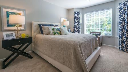 Oversized Bedroom Windows Offer Plenty of Light | Alister Quincy