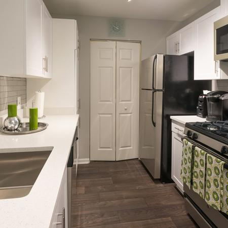 Redesigned Kitchens with Updated Appliances and Granite Counters