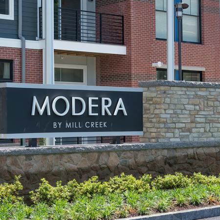 Monument Sign | Modera Medford