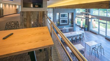Second Floor Resident Lounge | Modera Medford
