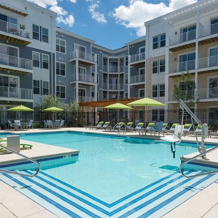 Resort-Style Pool and Sundeck | Modera Medford