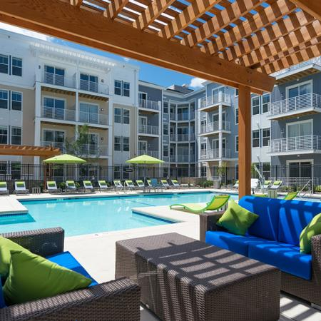 Outdoor Lounge | Modera Medford