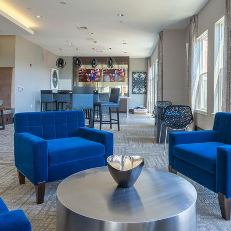 Sky Lounge Overlooking City | Modera Medford