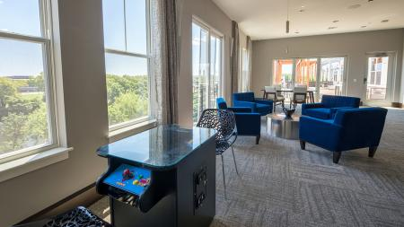 Arcade Games and Sitting Lounge | Modera Medford