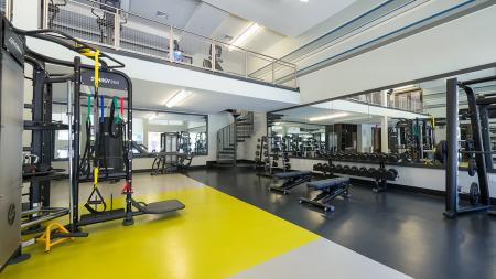 Two-Story Fitness Center | Modera Medford