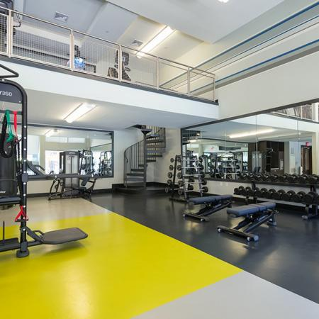 Two-Story Fitness Center | Modera Medford