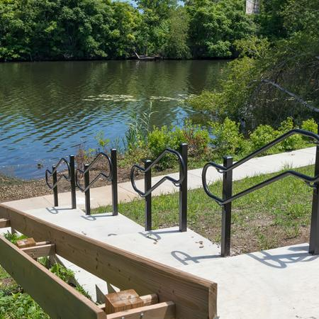 Direct Access to Walking Paths and Kayak Launch | Modera Medford