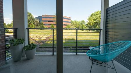 Private Patios Available | Modera Medford