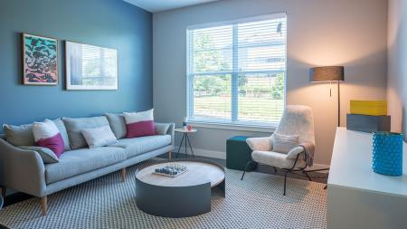 Clean, Airy Living Rooms | Modera Medford