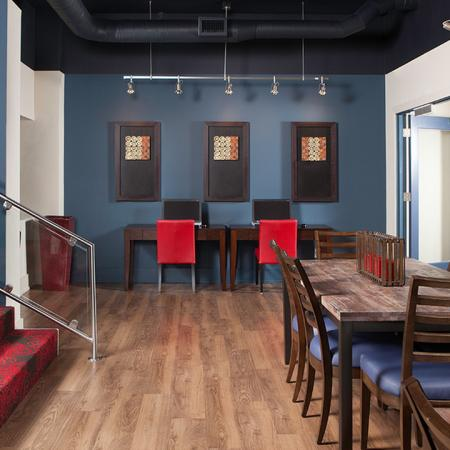 Community Business Center with Free WiFi | Skye at Belltown