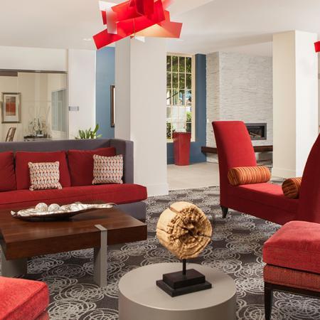 Clubroom Seating in Lobby | Skye at Belltown