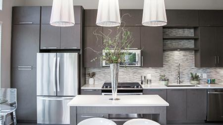 Modern Kitchen in Terrace Homes | Modera Morningside