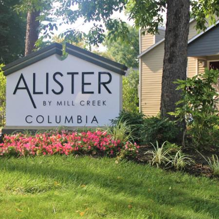 Alister Columbia Monument Sign | Alister Columbia